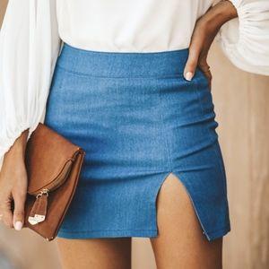 HOST PICK | Maddy Denim Mini Skirt